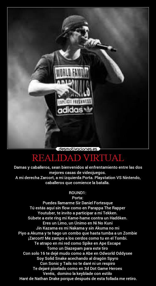 Realidad Virtual Desmotivaciones