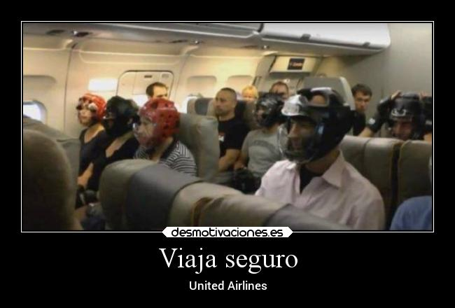 Viaja seguro - United Airlines