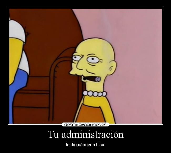 carteles humor simpsons slipkdemon lisa desmotivaciones