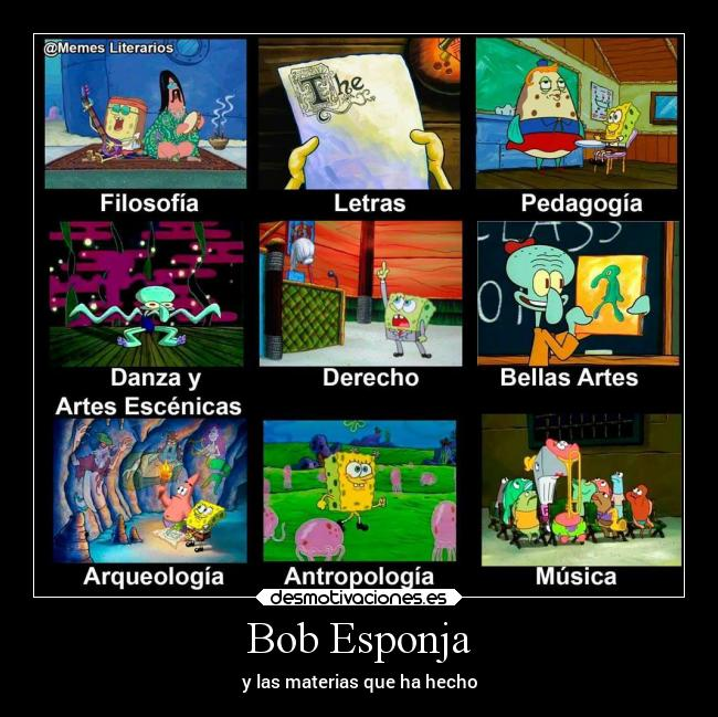 Bob Esponja Desmotivaciones