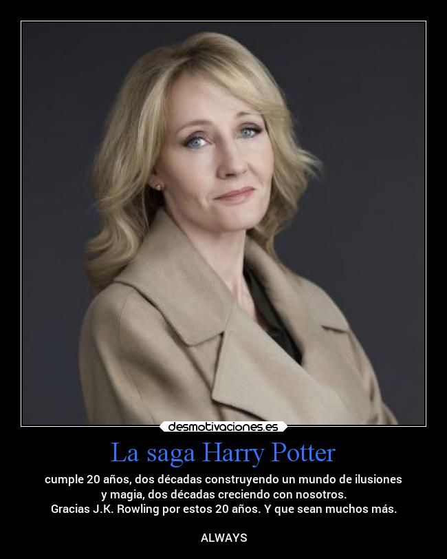 La saga Harry Potter -