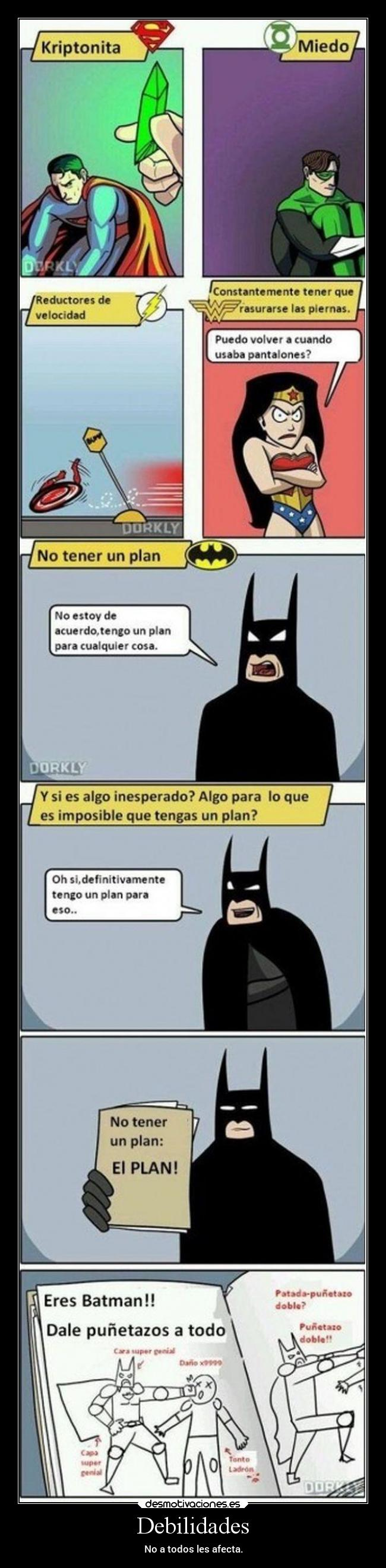 carteles vida humor fail tonto debil flash greenlantern wonderwoman superman batman laurasimpsonxv desmotivaciones