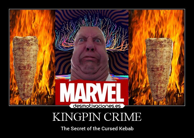 KINGPIN CRIME - The Secret of the Cursed Kebab