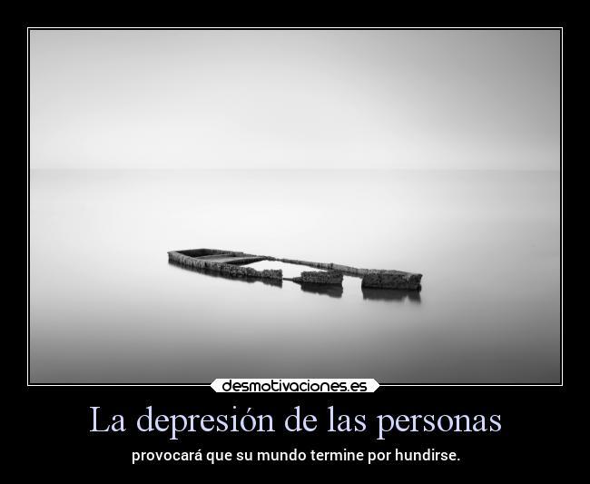 La Depresión De Las Personas Desmotivaciones
