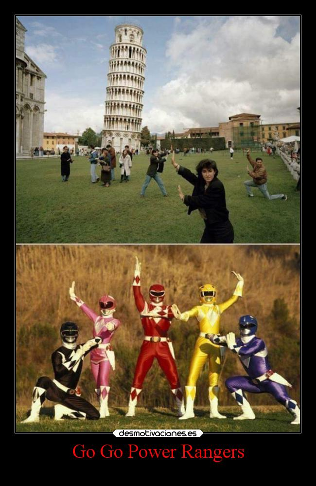 Go Go Power Rangers -