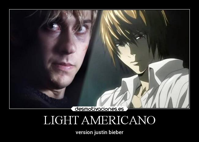 LIGHT AMERICANO - version justin bieber