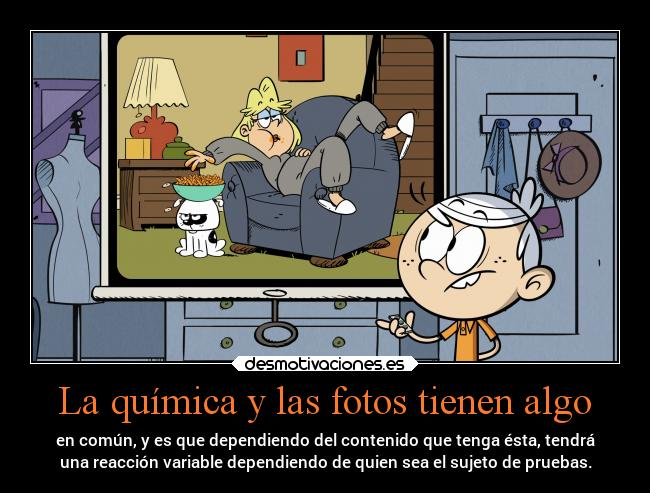 carteles madre facebook quimica experimentos theloudhouse lincoln rita loud house desmotivaciones