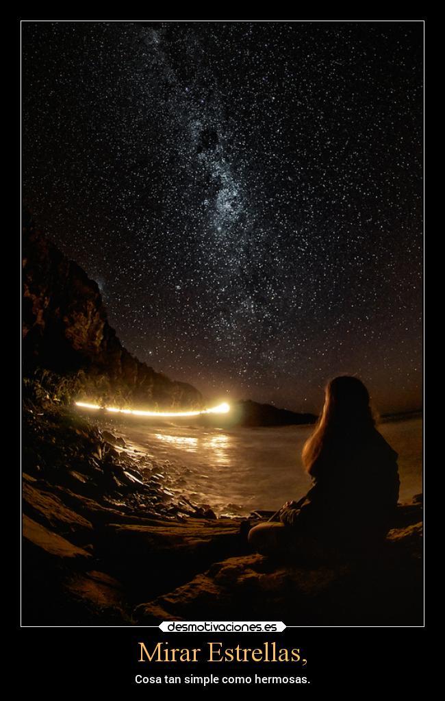 Mirar Estrellas Desmotivaciones