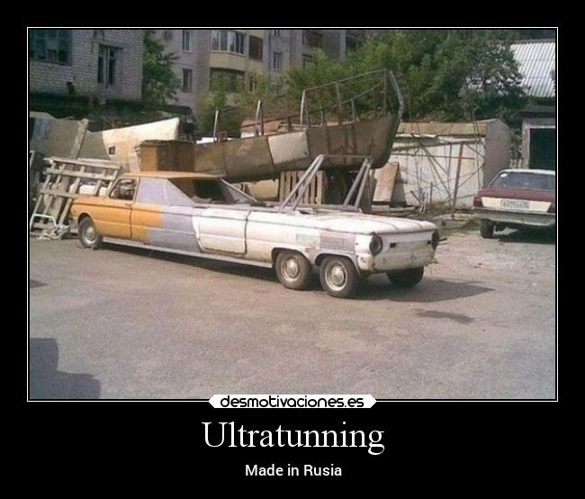 Ultratunning - Made in Rusia
