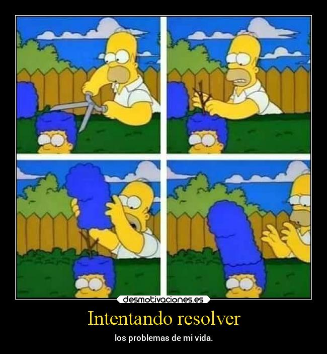 Intentando resolver -