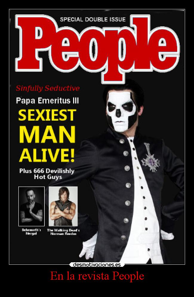 En la revista People -