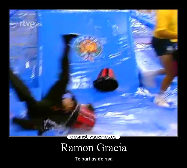 Ramon Gracia - Te partias de risa