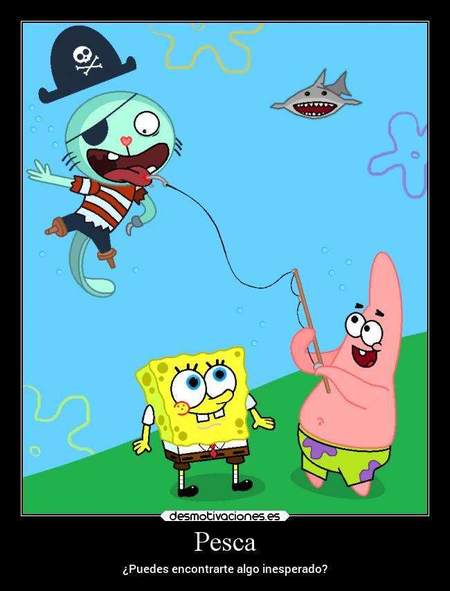 carteles destino amigos happy three friends felices del bosque bob esponja spongebob desmotivaciones