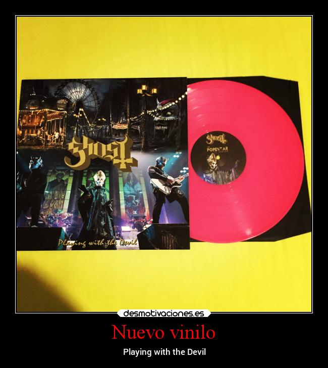 Nuevo vinilo - Playing with the Devil