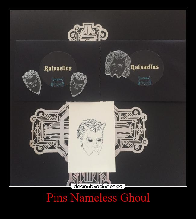 Pins Nameless Ghoul -