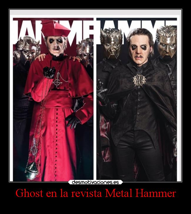 Ghost en la revista Metal Hammer -