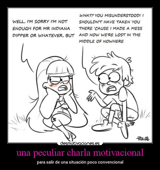Una Peculiar Charla Motivacional Desmotivaciones