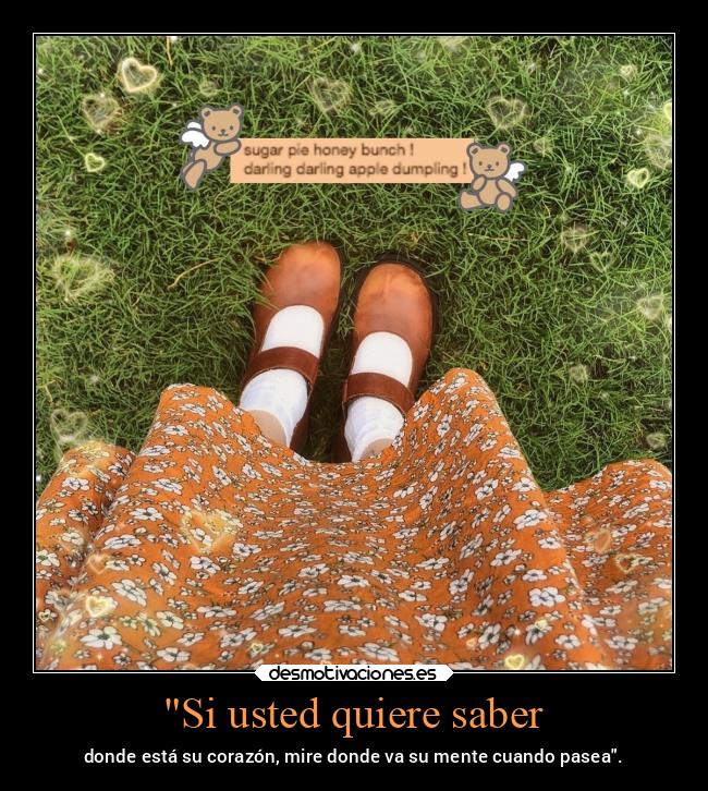 Si usted quiere saber -