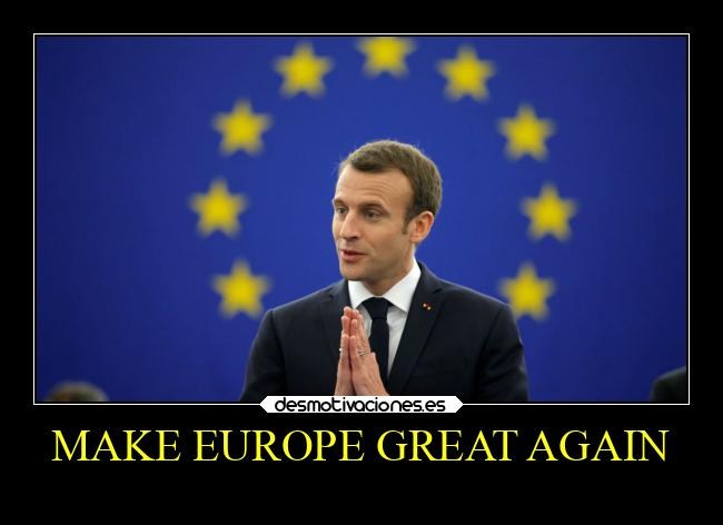 MAKE EUROPE GREAT AGAIN -