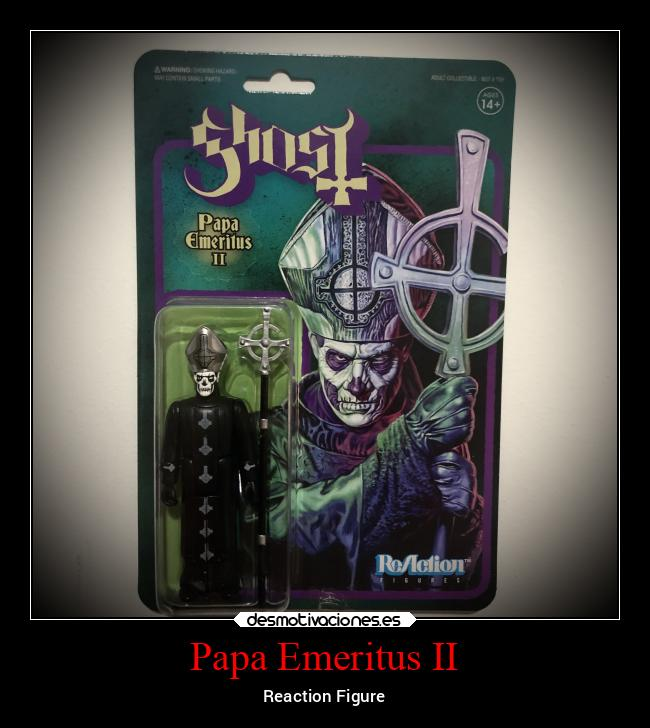 Papa Emeritus II - Reaction Figure
