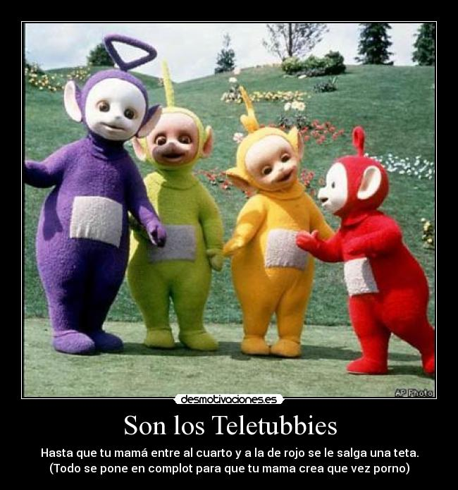 Sorry, that Porno teletubbies