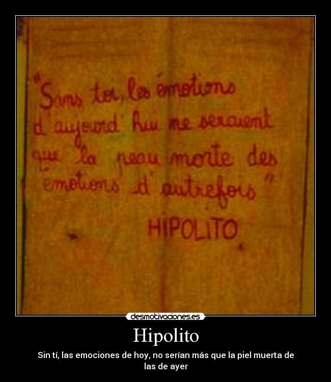 Imágenes Y Carteles De Hipolito Desmotivaciones