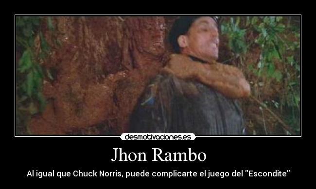 Imágenes Y Carteles De Rambo Pag 36 Desmotivaciones