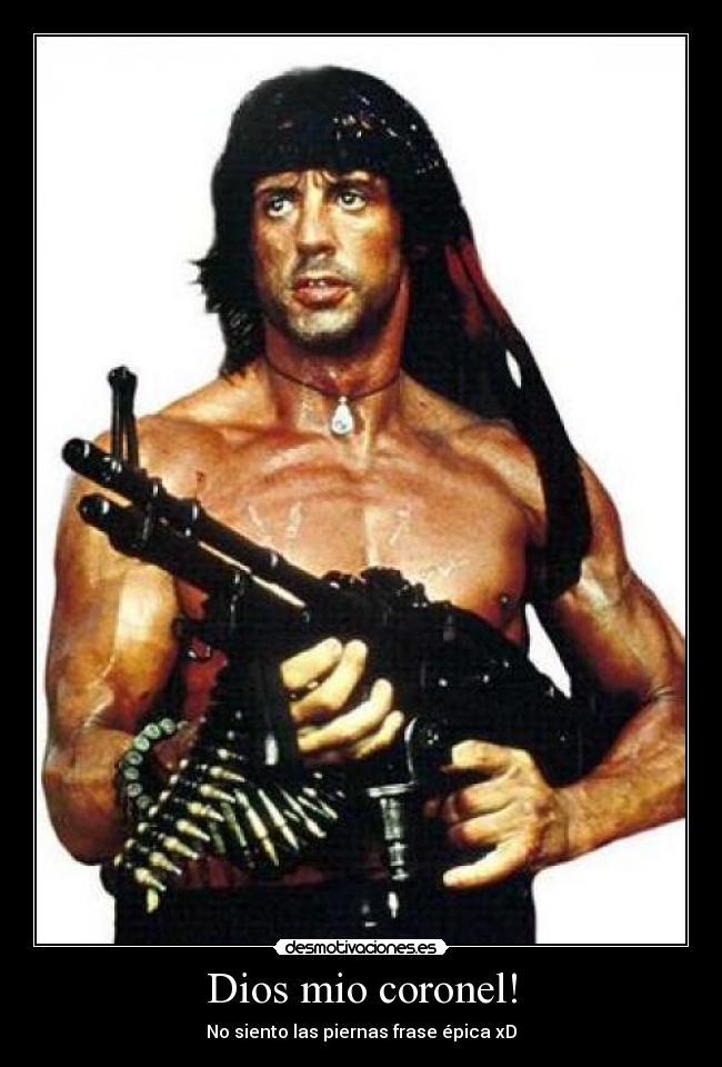 Imágenes Y Carteles De Rambo Pag 24 Desmotivaciones