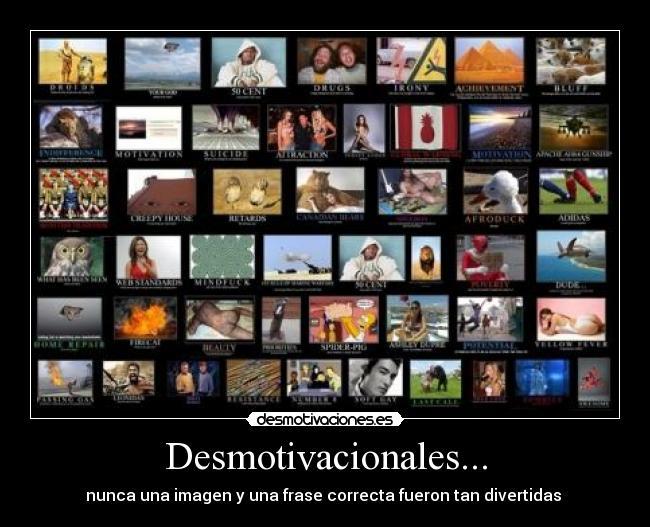 Imágenes Y Carteles De Desmotivacionales Desmotivaciones
