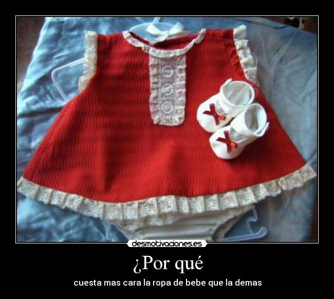 ropa de bebe cara