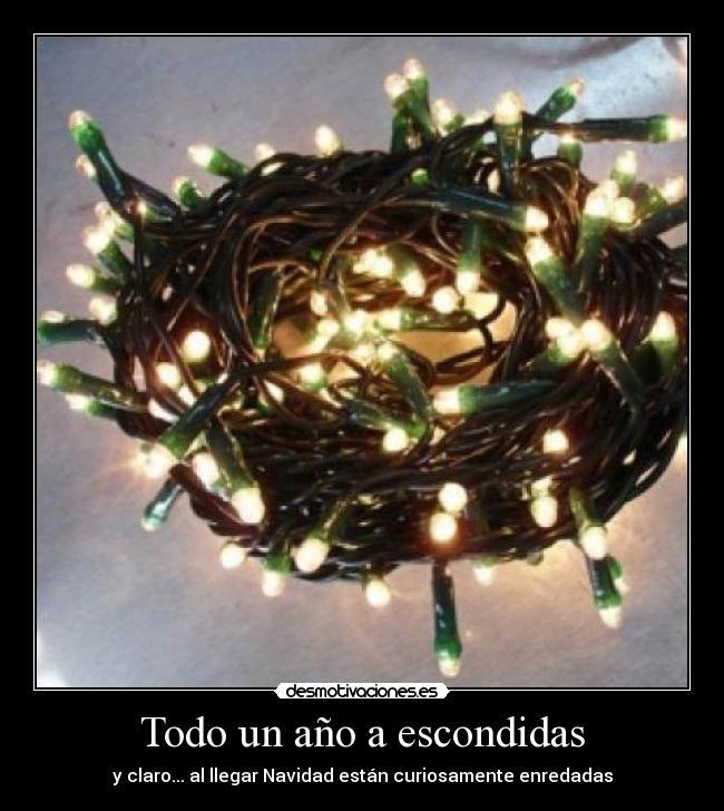 carteles luces arbol navidad enredado ano vida desmotivaciones 32a6d0785a4b
