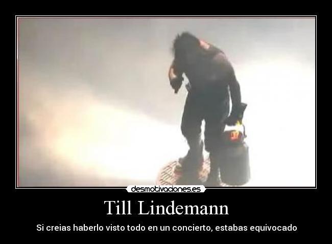 Imágenes Y Carteles De Lindemann Desmotivaciones