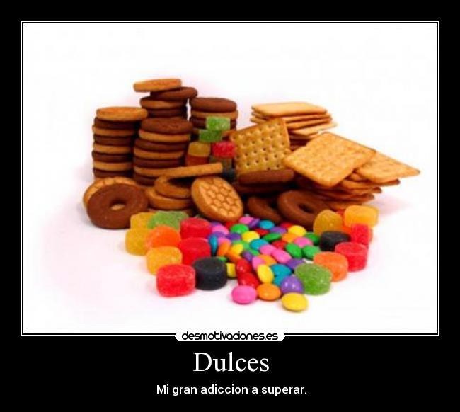 Resultado de imagen de adiccion al dulce