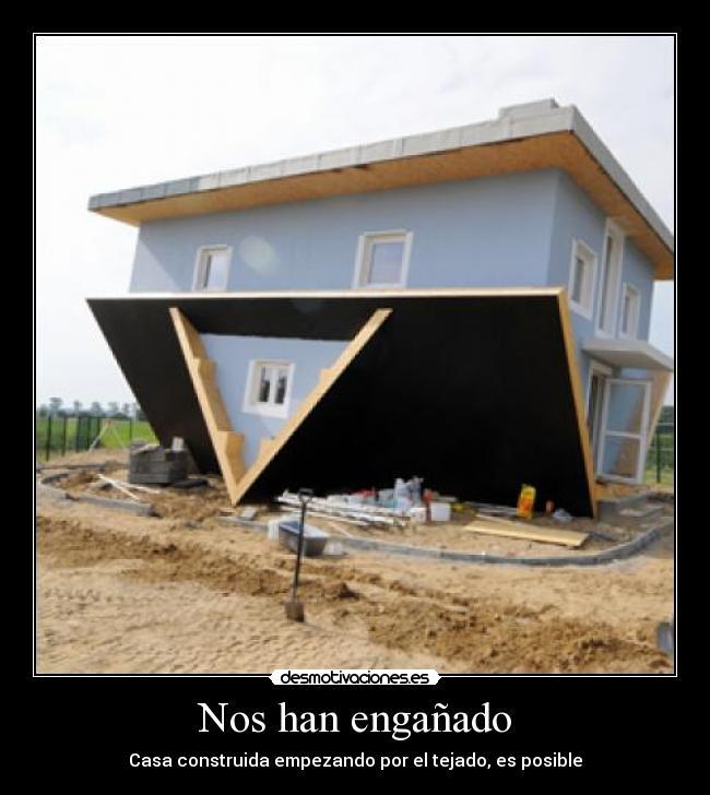 Nos han enga ado desmotivaciones - La casa en el tejado ...