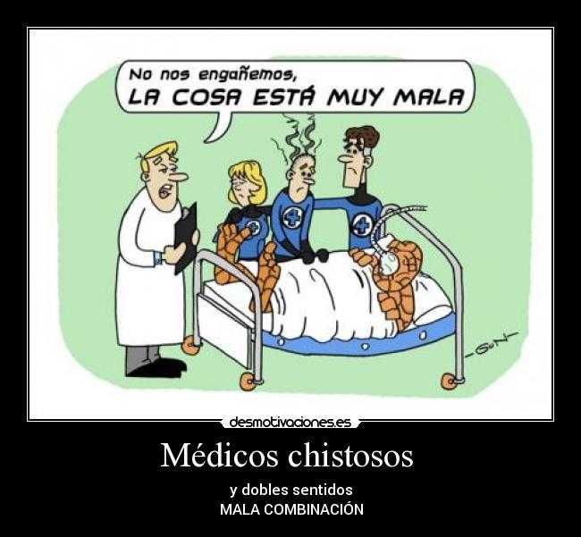 Médicos Chistosos Desmotivaciones
