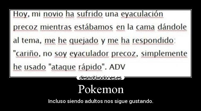 Pokemon -