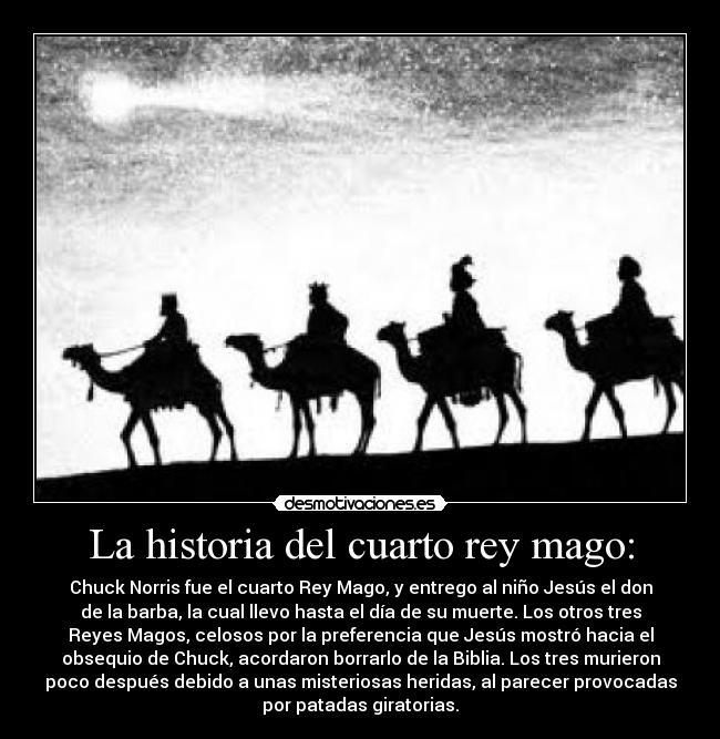 La historia del cuarto rey mago: | Desmotivaciones