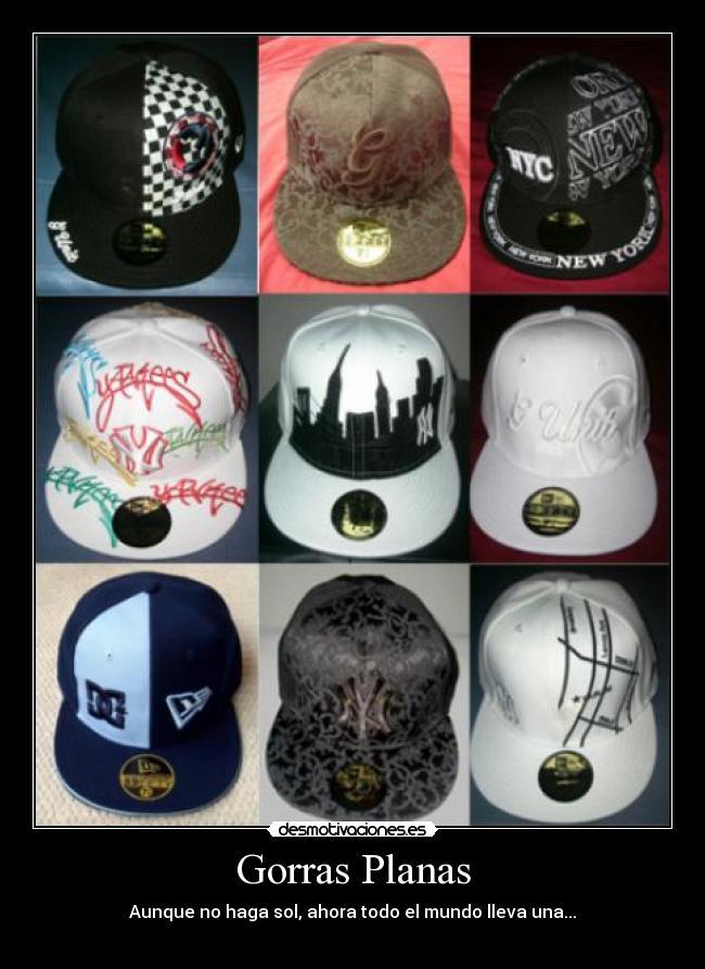 carteles gorras planas desmotivaciones · bueno. 11 b84ac946afd