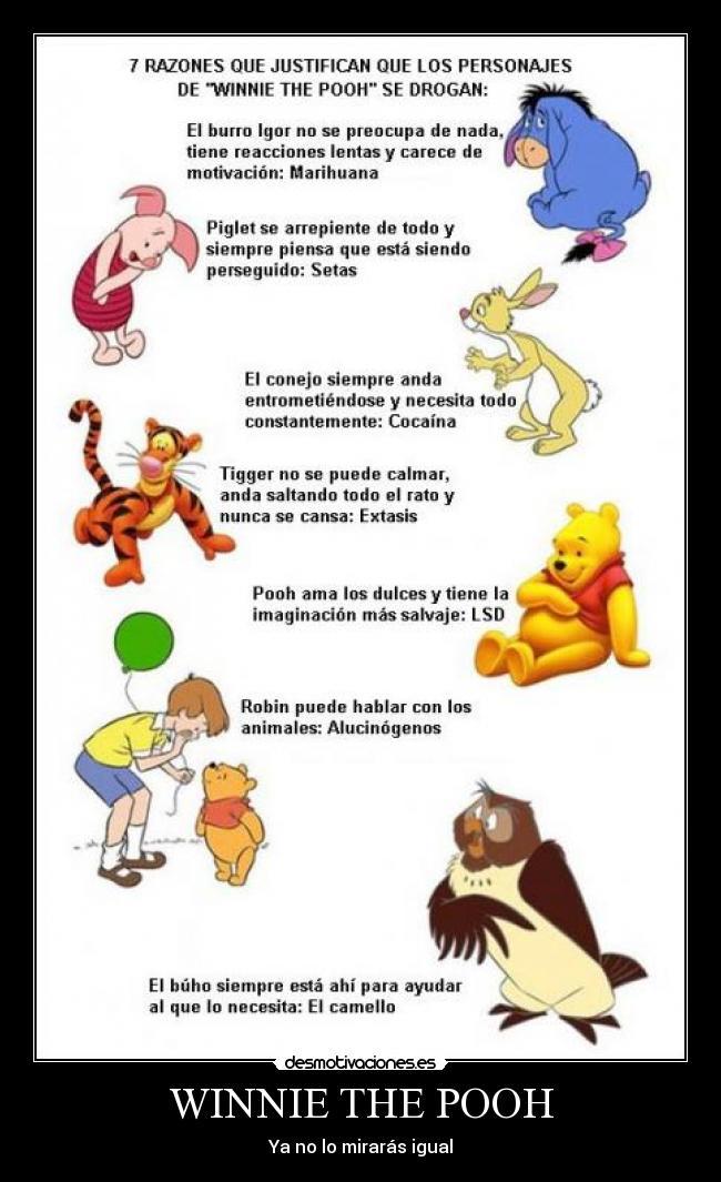 Imágenes Y Carteles De Pooh Desmotivaciones