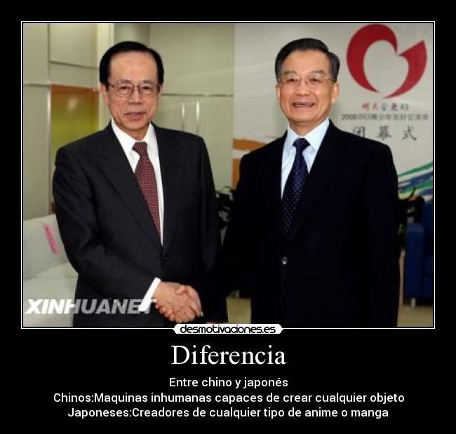 Cual Es La Diferencia Entre Un Chino Y Un Japones - Esta ...