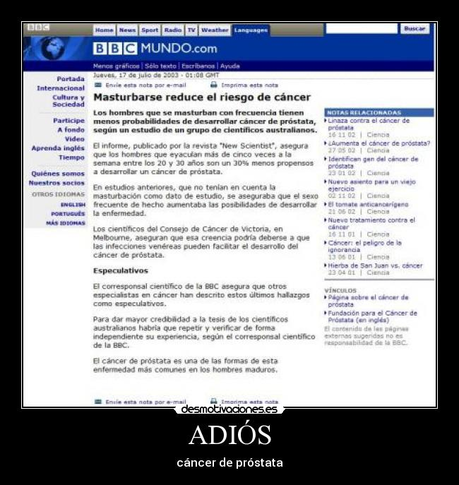 tratamiento de próstata bbc