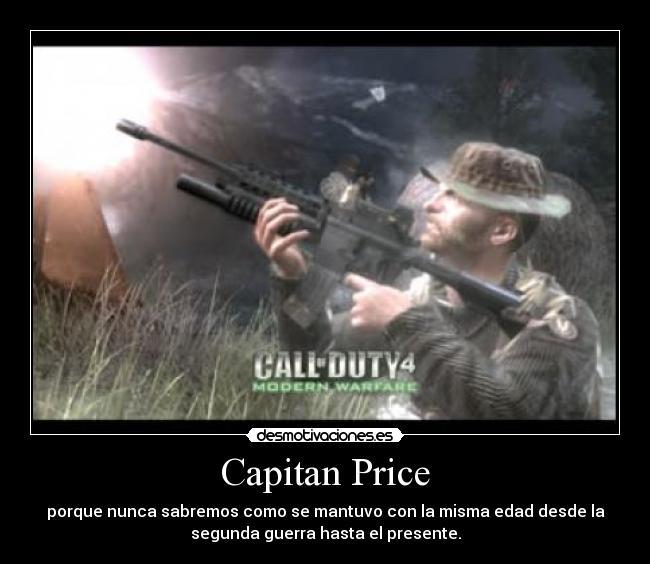 Capitan Price Desmotivaciones
