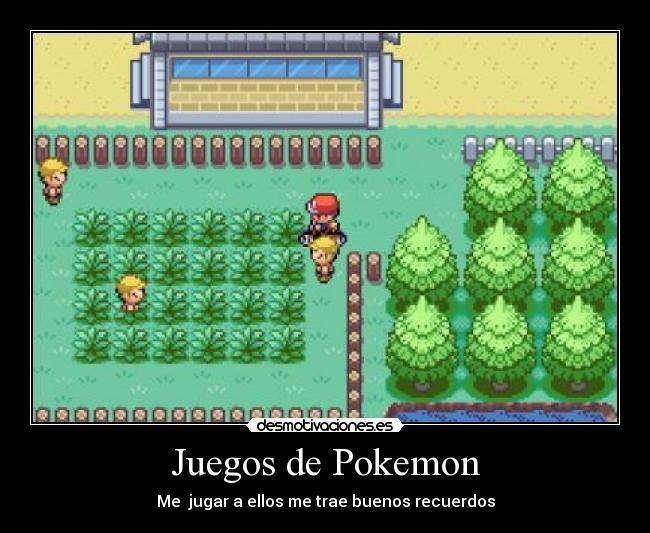 Juegos De Pokemon Desmotivaciones