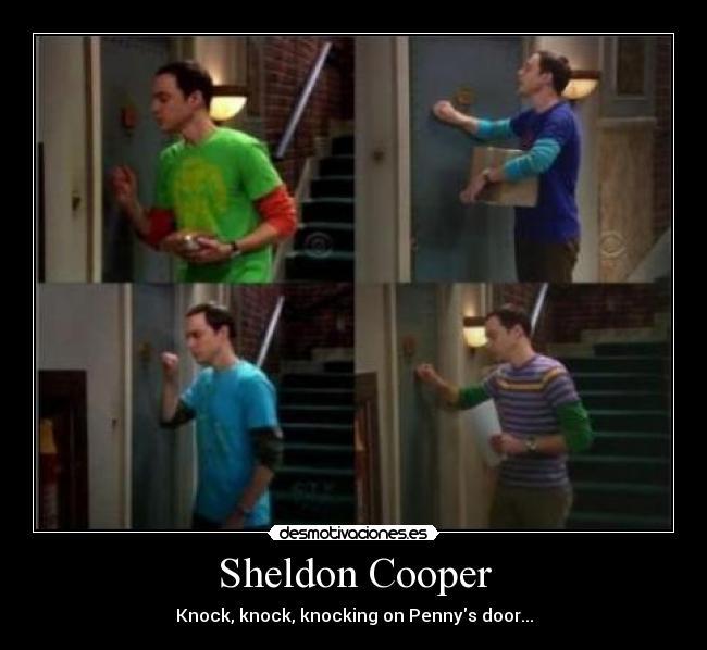 The big bang theory sheldon cooper folla penny
