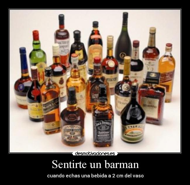 Imágenes Y Carteles De Barman Pag 3 Desmotivaciones