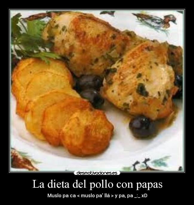 Dieta del pollo