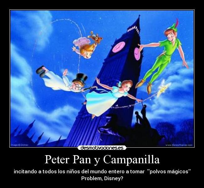 Peter Pan Y Campanilla Desmotivaciones