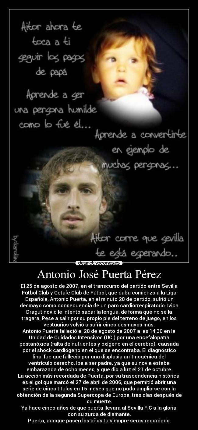 Antonio José Puerta Pérez Desmotivaciones
