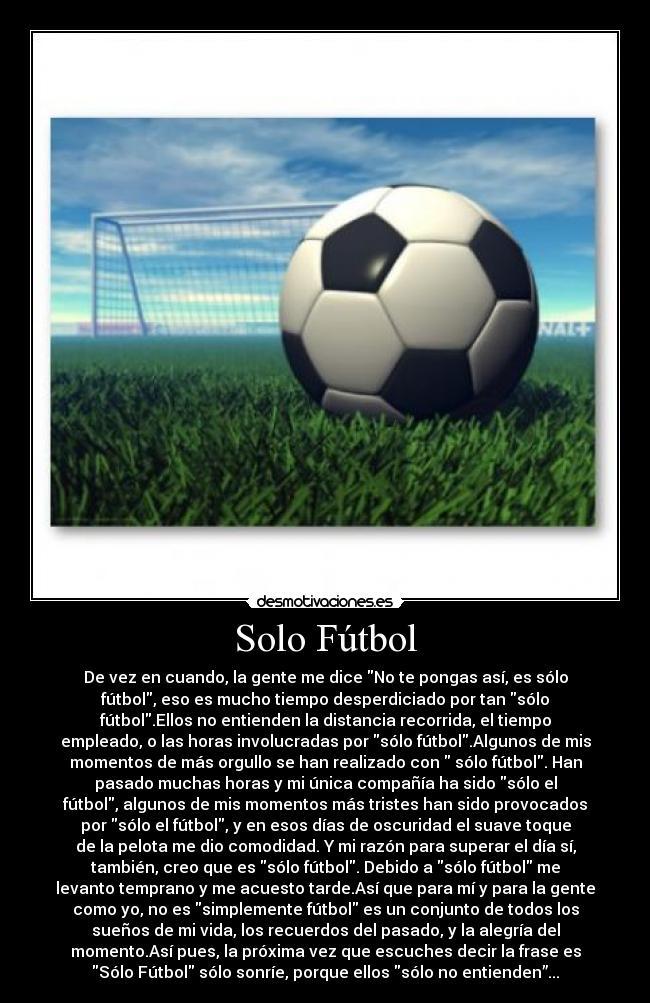 b4be6559f93ac Solo Fútbol - De vez en cuando