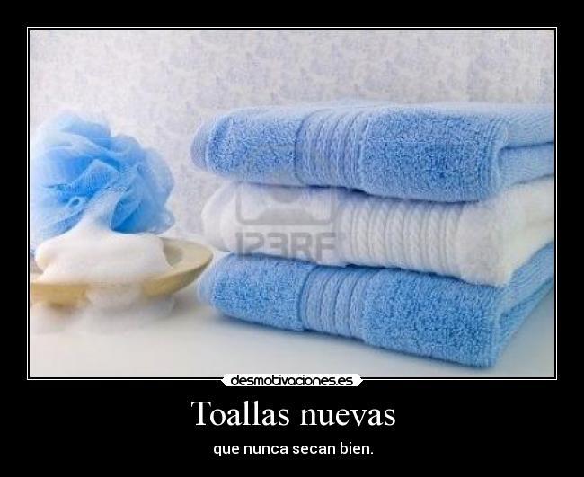 como lavar las toallas nuevas para que sequen bien